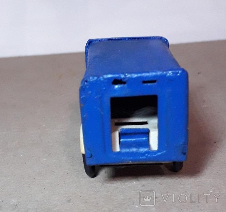 Грузовая машинка с тентом СССР 60-70-е (длина 8,5 см)., фото №4