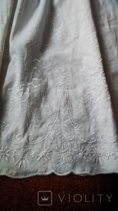 Юбка с белой вышивкой, фото №3