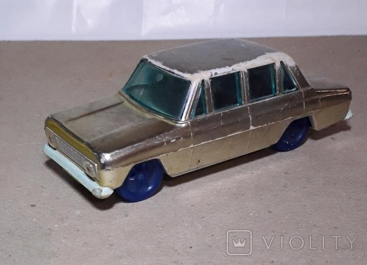 Машинка Москвич инерционная 60-70-е СССР, фото №2
