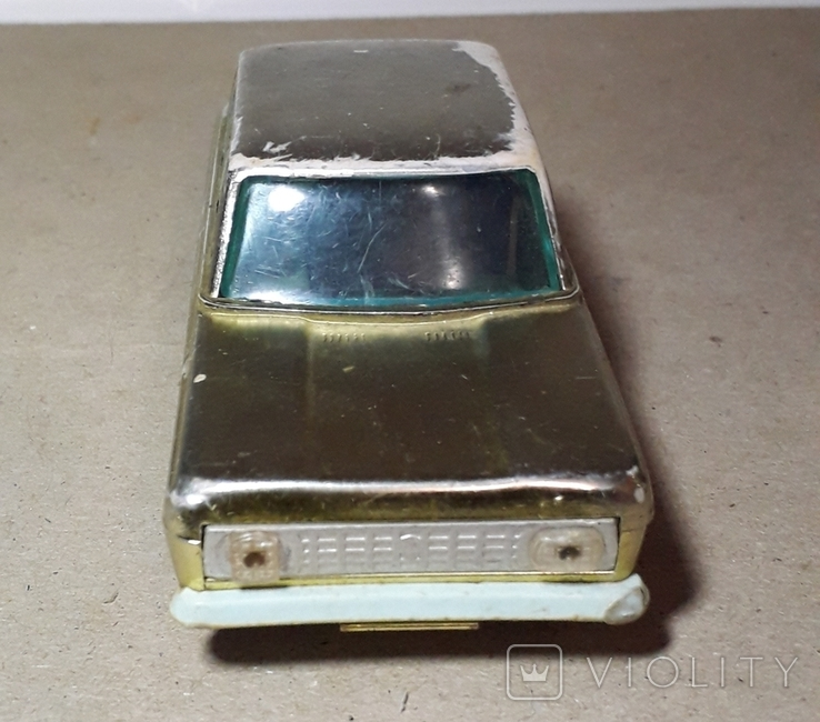 Машинка Москвич инерционная 60-70-е СССР, фото №9