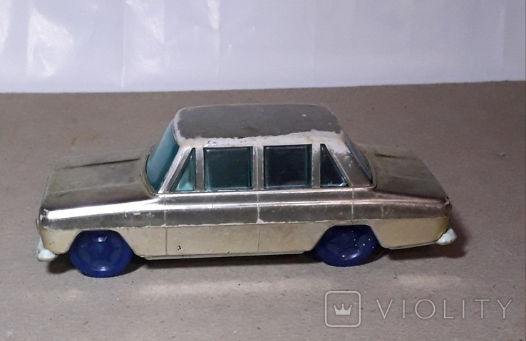 Машинка Москвич инерционная 60-70-е СССР, фото №10