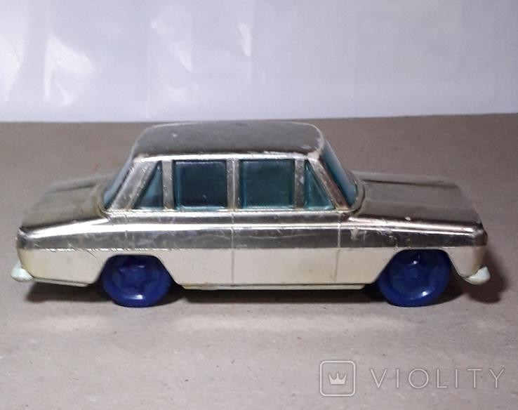Машинка Москвич инерционная 60-70-е СССР, фото №11