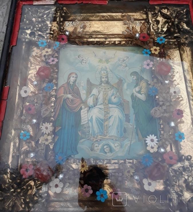 Икона, Спас на троне, фото №3