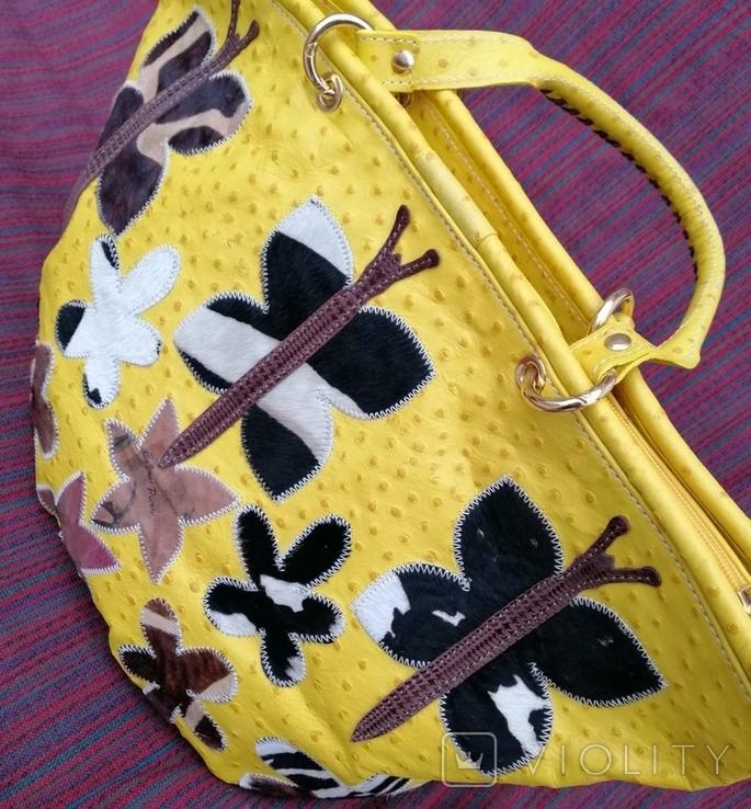 Кожаная сумка Cecconi Piero, фото №3