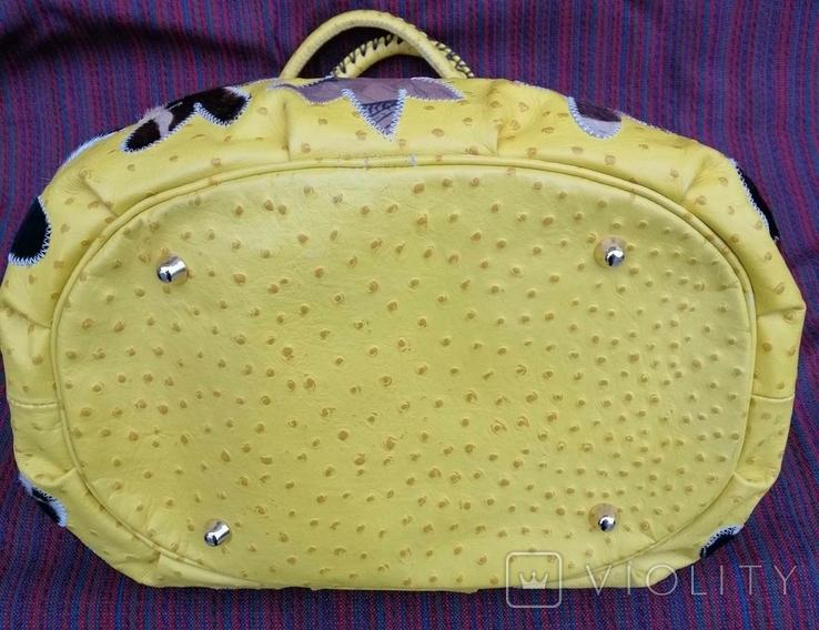 Кожаная сумка Cecconi Piero, фото №7