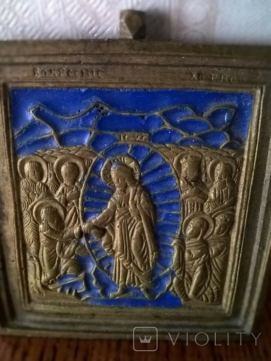 Икона вершковая, фото №3