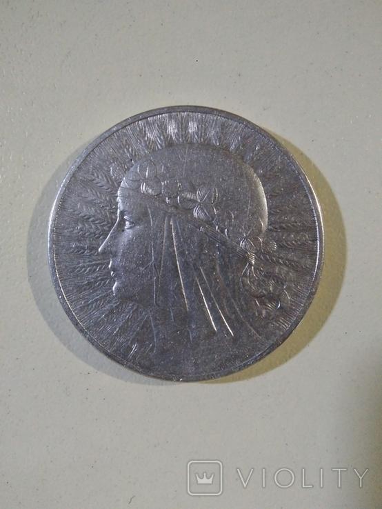 10 злотых, 1932 Серебро, фото №2