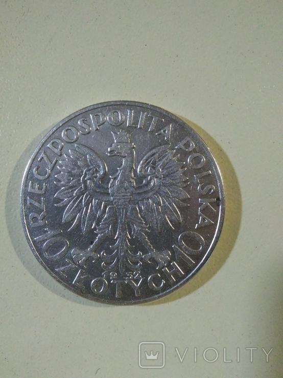 10 злотых, 1932 Серебро, фото №3