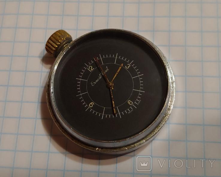 """Часы Швейцарской марки """"Borel"""" для авиа пулемёта времён ВОВ., фото №3"""