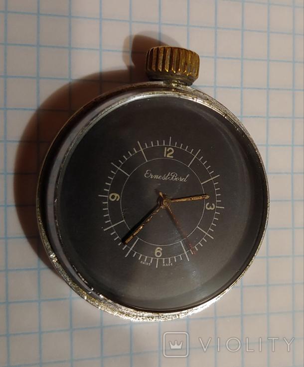 """Часы Швейцарской марки """"Borel"""" для авиа пулемёта времён ВОВ., фото №6"""