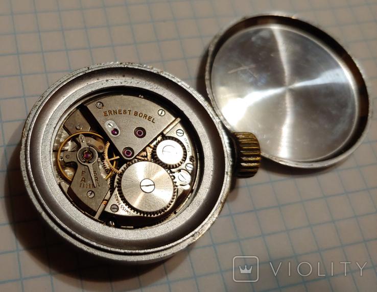"""Часы Швейцарской марки """"Borel"""" для авиа пулемёта времён ВОВ., фото №10"""