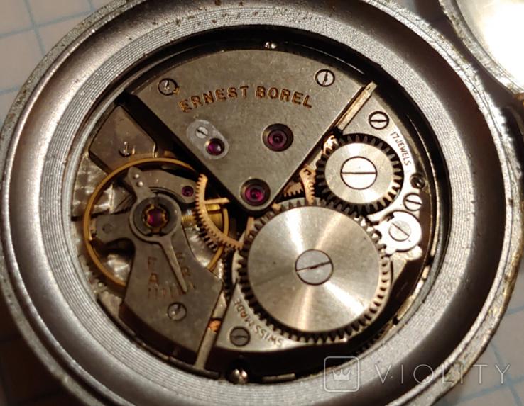 """Часы Швейцарской марки """"Borel"""" для авиа пулемёта времён ВОВ., фото №12"""