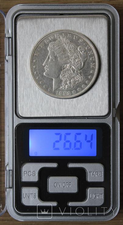 1 доллар 1921(D), фото №4