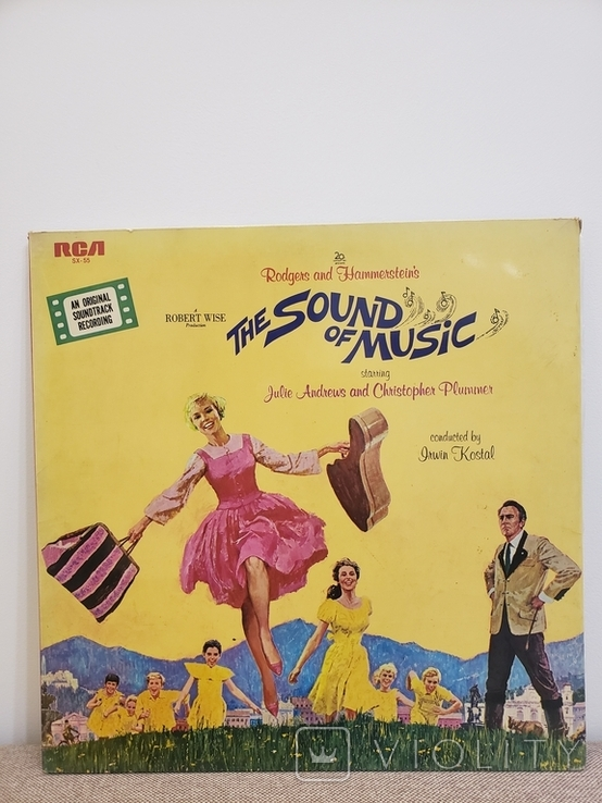 Vinyl. Rodgers And Hammerstein-The Sound Of Music, фото №2