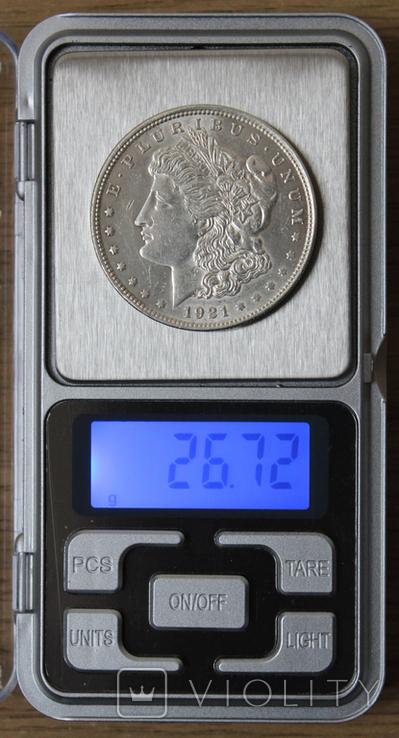 1 доллар 1921, фото №4