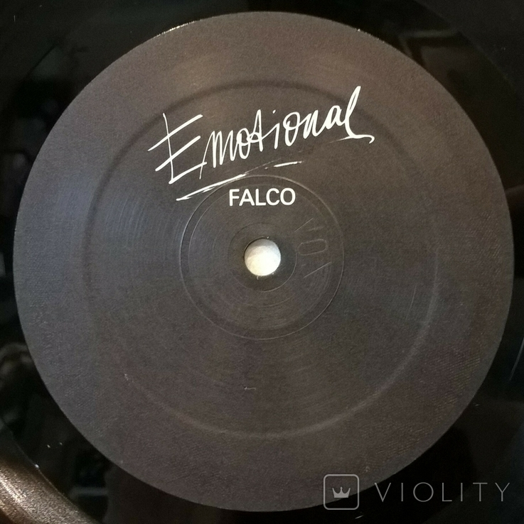 Falco (Emotional) 1986. (LP). 12. Vinyl. Пластинка. Germany., фото №7