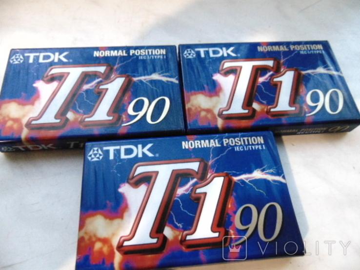 Кассеты TDK запечатанные., фото №2