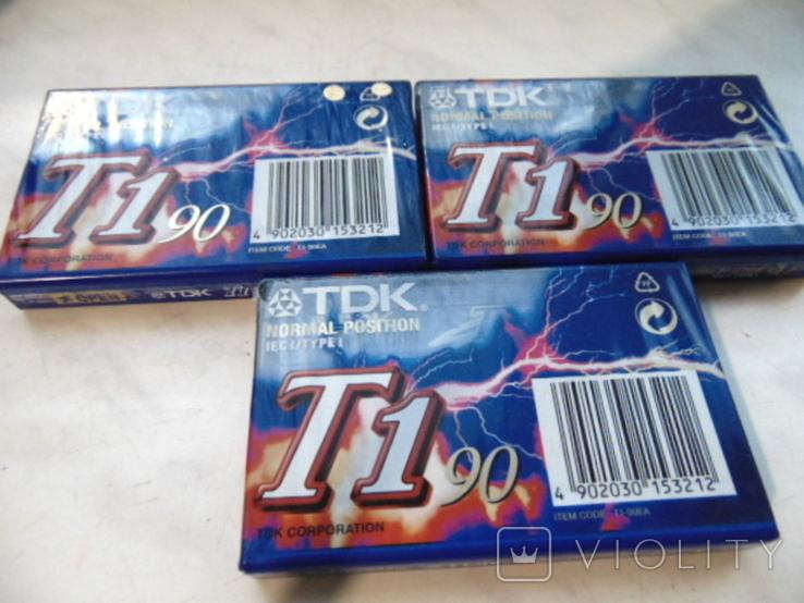Кассеты TDK запечатанные., фото №3