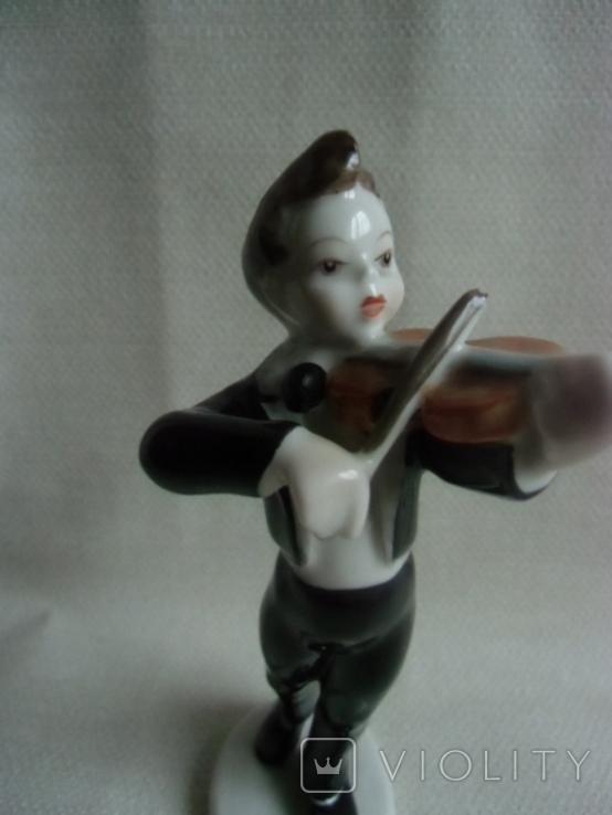Юный скрипач Венгрия .Холохаза .Ручная роспись., фото №8