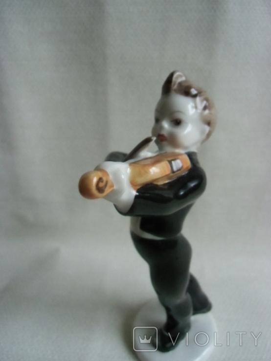 Юный скрипач Венгрия .Холохаза .Ручная роспись., фото №10