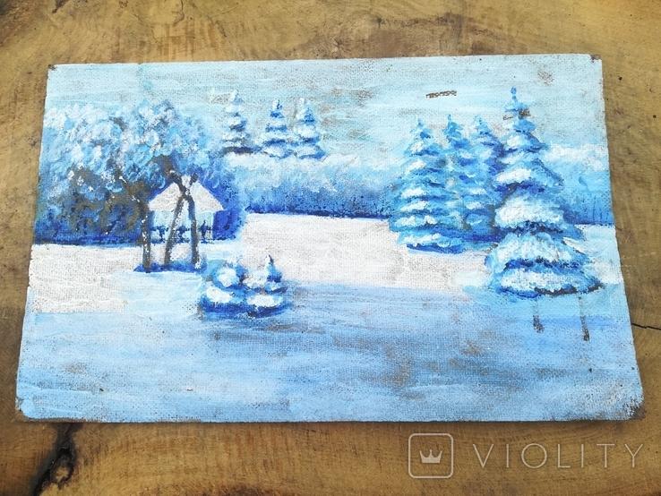 Картина зима, фото №2