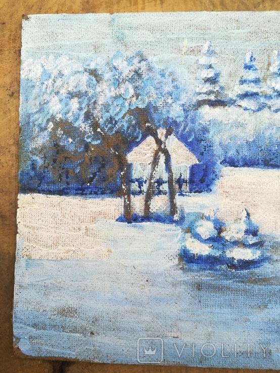 Картина зима, фото №3