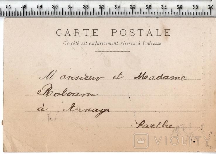 Старинная открытка. 1910 год. Дети.(3), фото №3