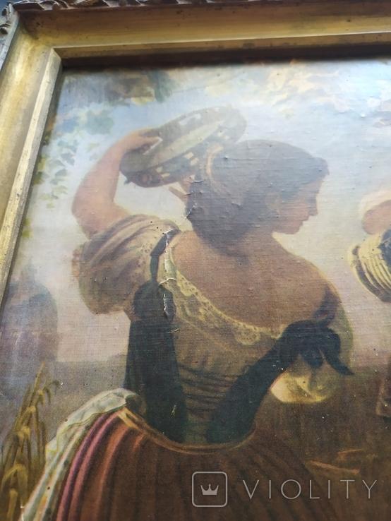 Октябрьский праздник в Риме, Орлов. Картинка рама репродукция, фото №4
