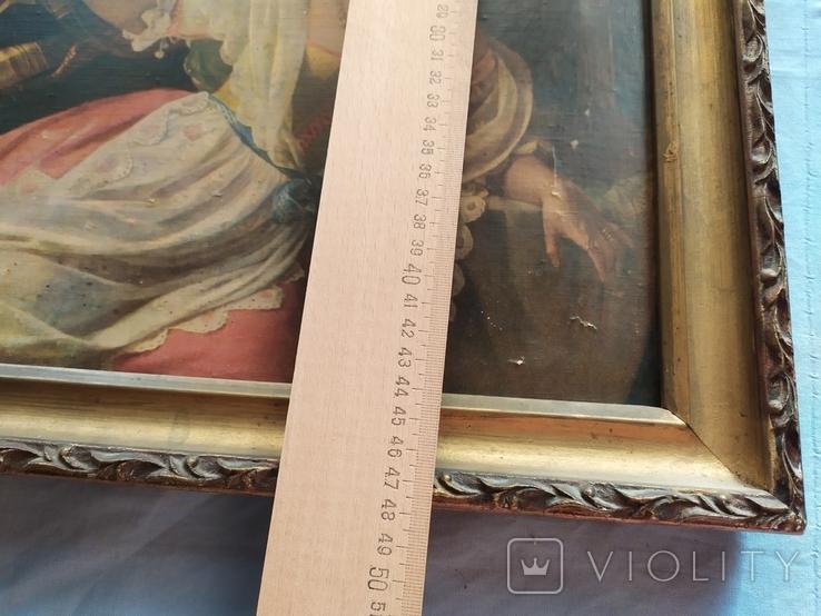 Октябрьский праздник в Риме, Орлов. Картинка рама репродукция, фото №12
