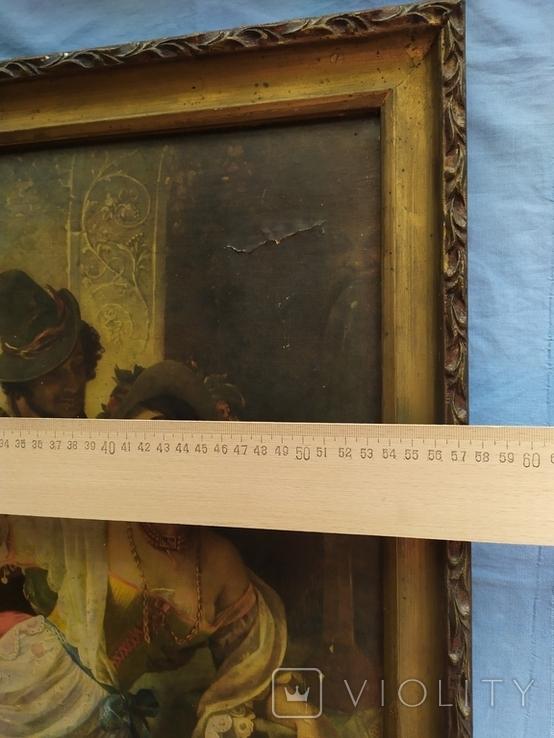 Октябрьский праздник в Риме, Орлов. Картинка рама репродукция, фото №13