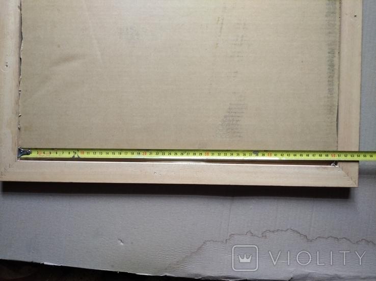 """""""Абстракция""""к./б./акр.39х50 см. 2007.Анатолий Шевчук, фото №6"""