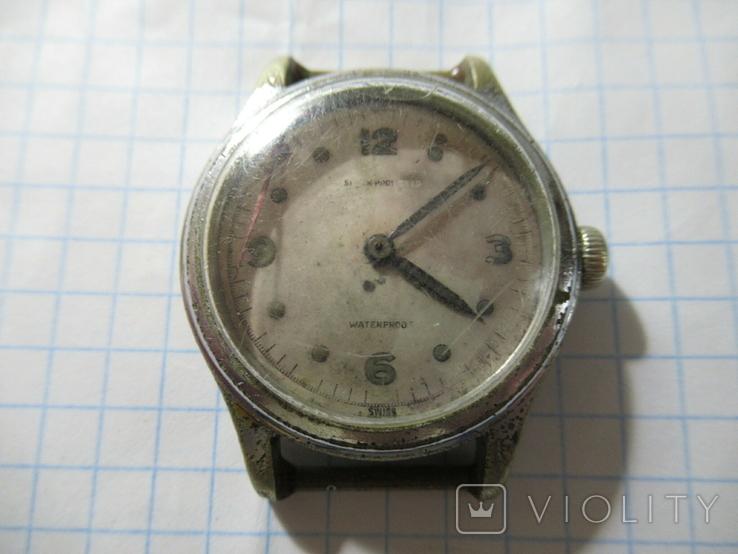 Wakmann watch Co  Shock Protected Часы Швейцария, фото №2
