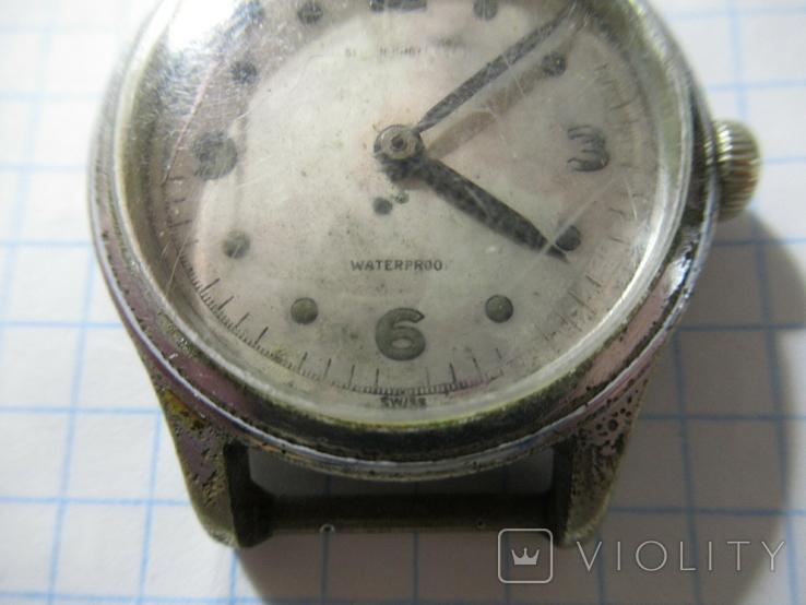 Wakmann watch Co  Shock Protected Часы Швейцария, фото №3