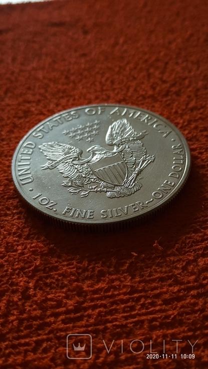 1 доллар 2013 год Шагающая свобода, фото №6