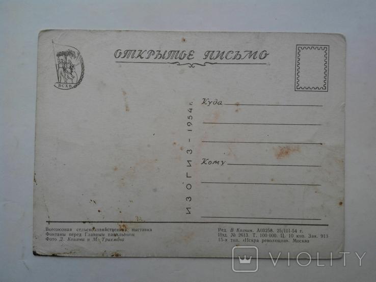 Всесоюзная сельскохозяйственная выставка. ИЗОГИЗ 1954 г., фото №12