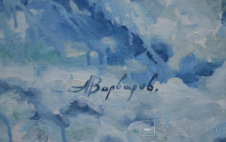 """Картина """"Вольная птица"""" 2014 г.  Художник Варваров А., фото №3"""