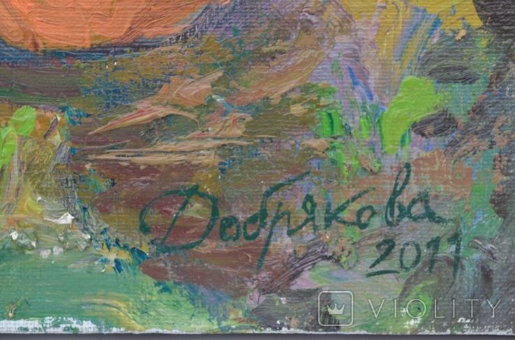 """Картина """"Хороший урожай"""" 2011 г. Художник Добрякова Д.В., фото №5"""