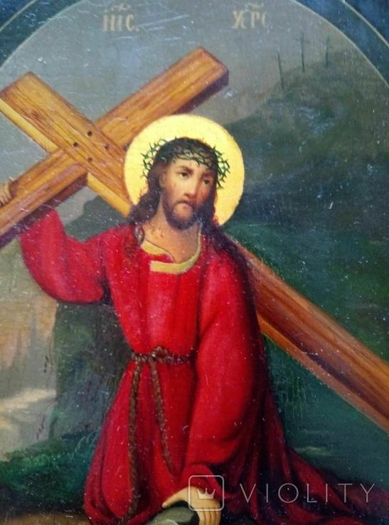 Иисус идет на голгофу, фото №2
