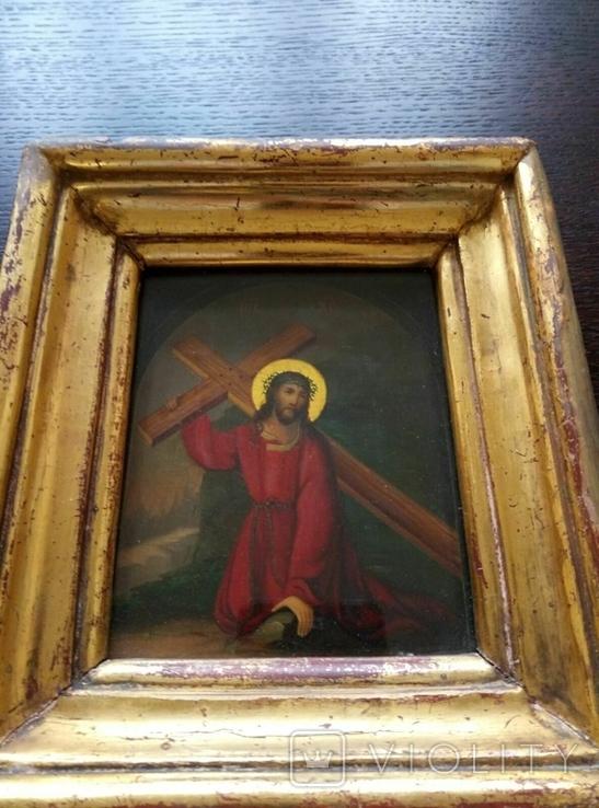 Иисус идет на голгофу, фото №4