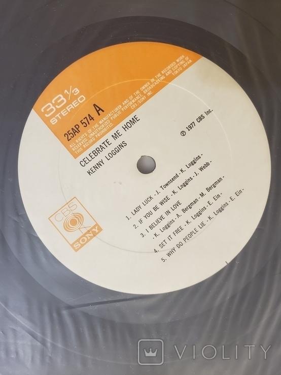 "Vinyl. Rock. ""Kenny Loggins – Celebrate Me Home"" with OBI, INSERT, фото №5"