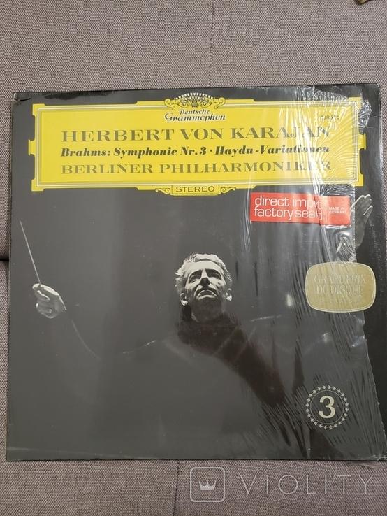 """Deutsche Grammophon. """"Herbert von Karajan– Symphonie Nr. 3 Haydn-Variationen"""", фото №2"""