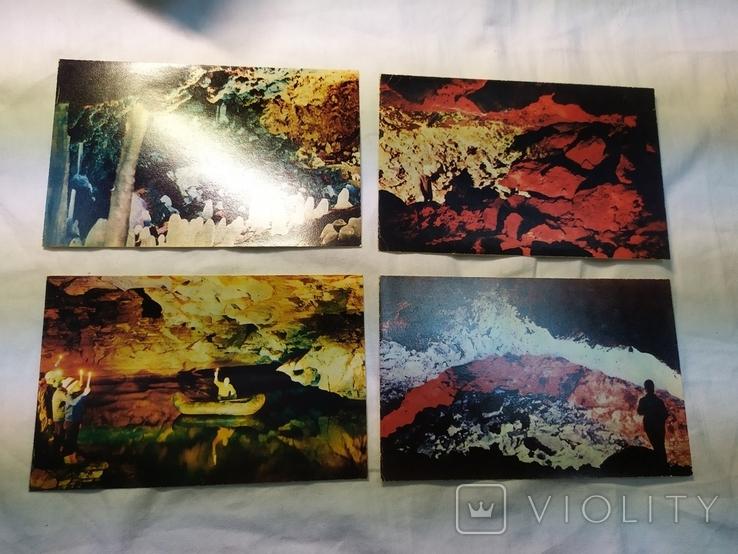 Комплект открыток Кунгурские пещеры. 15шт, фото №8