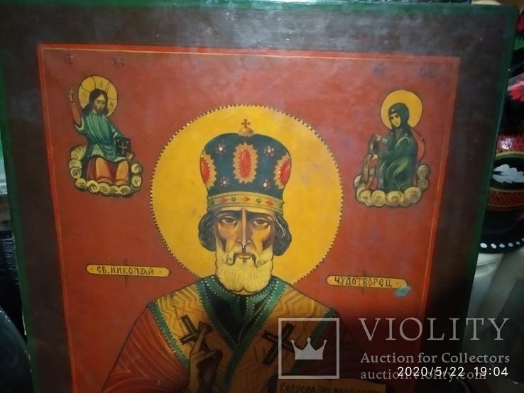 Икона Николай Чудотворец, фото №3