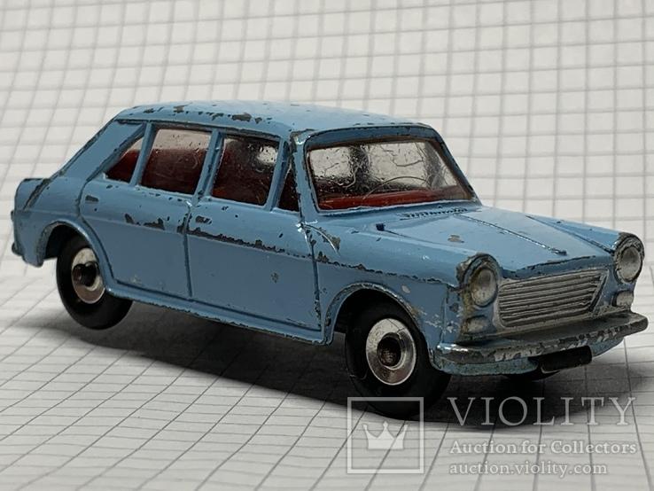 Vintage Dinky Toys 140 Blue  Morris 1100 - (1242), фото №2