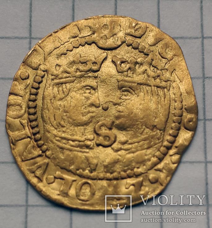Дукат 1590-1597 Niederlande-Zwolle