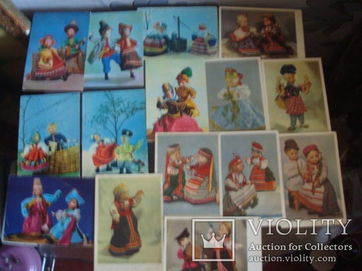 """Откр.СССР """"куклы"""" 60-е года., фото №2"""