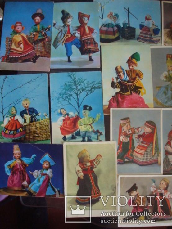 """Откр.СССР """"куклы"""" 60-е года., фото №4"""