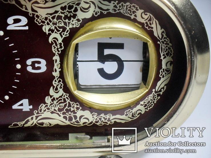 Shanghai china часы с календарем, фото №4