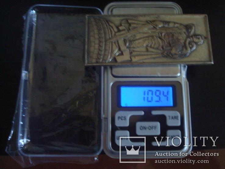 """Настольная медаль-плакетка монумент """"Воину Освободителю"""", фото №7"""