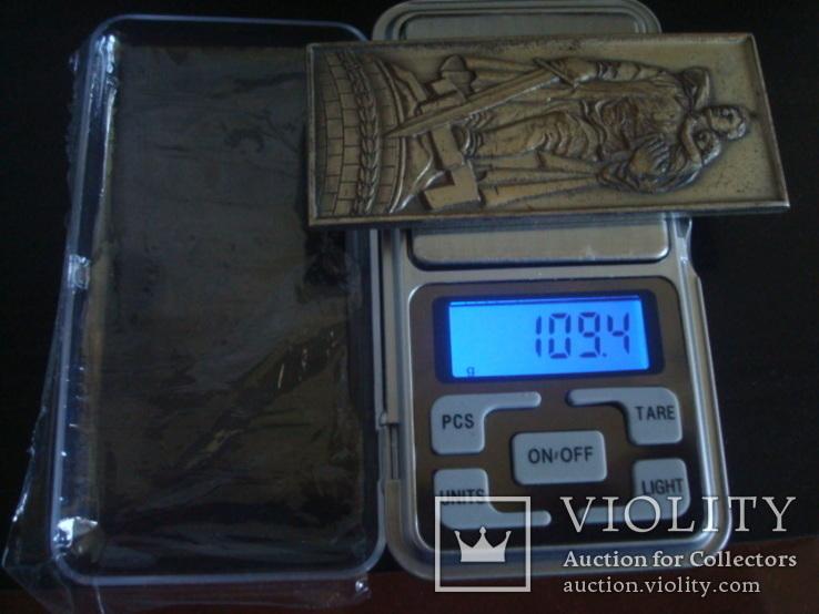 """Настольная медаль-плакетка монумент """"Воину Освободителю"""", фото №8"""